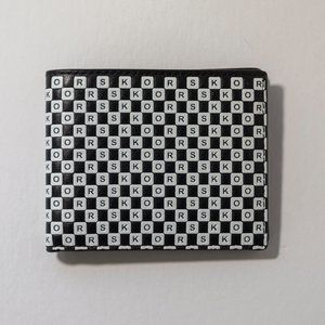 Michael Kors Checkerboard Billfold Wallet